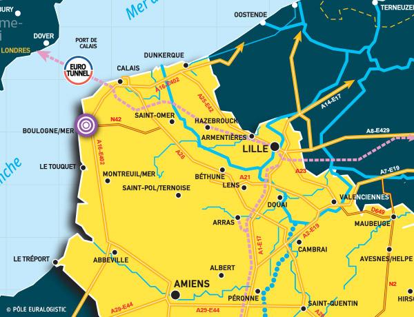 Port de Boulogne Calais - Site de Boulogne