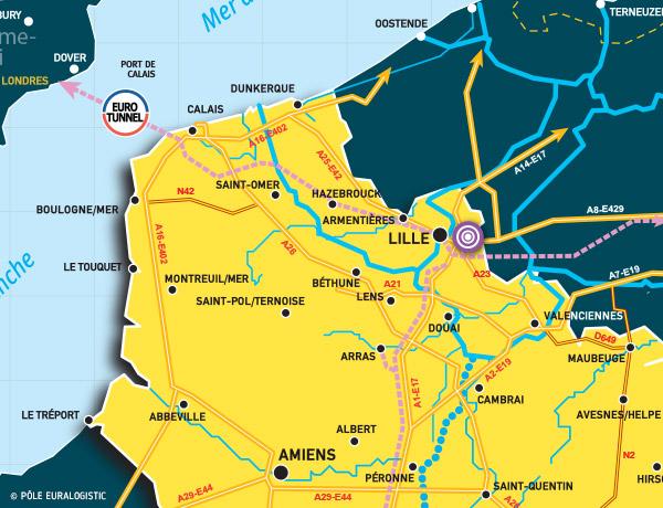 Centre Régional Transport Distribution de Lesquin - CRTD